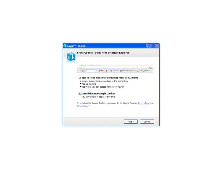 Skype installieren 4